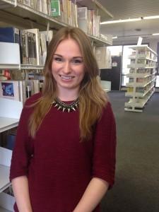 Justyna Sumislawska, 21 ans, étudiante polonaise, suit un semestre d'études à l'université Paris 13 de Villetaneuse en Seine-Saint-Denis.
